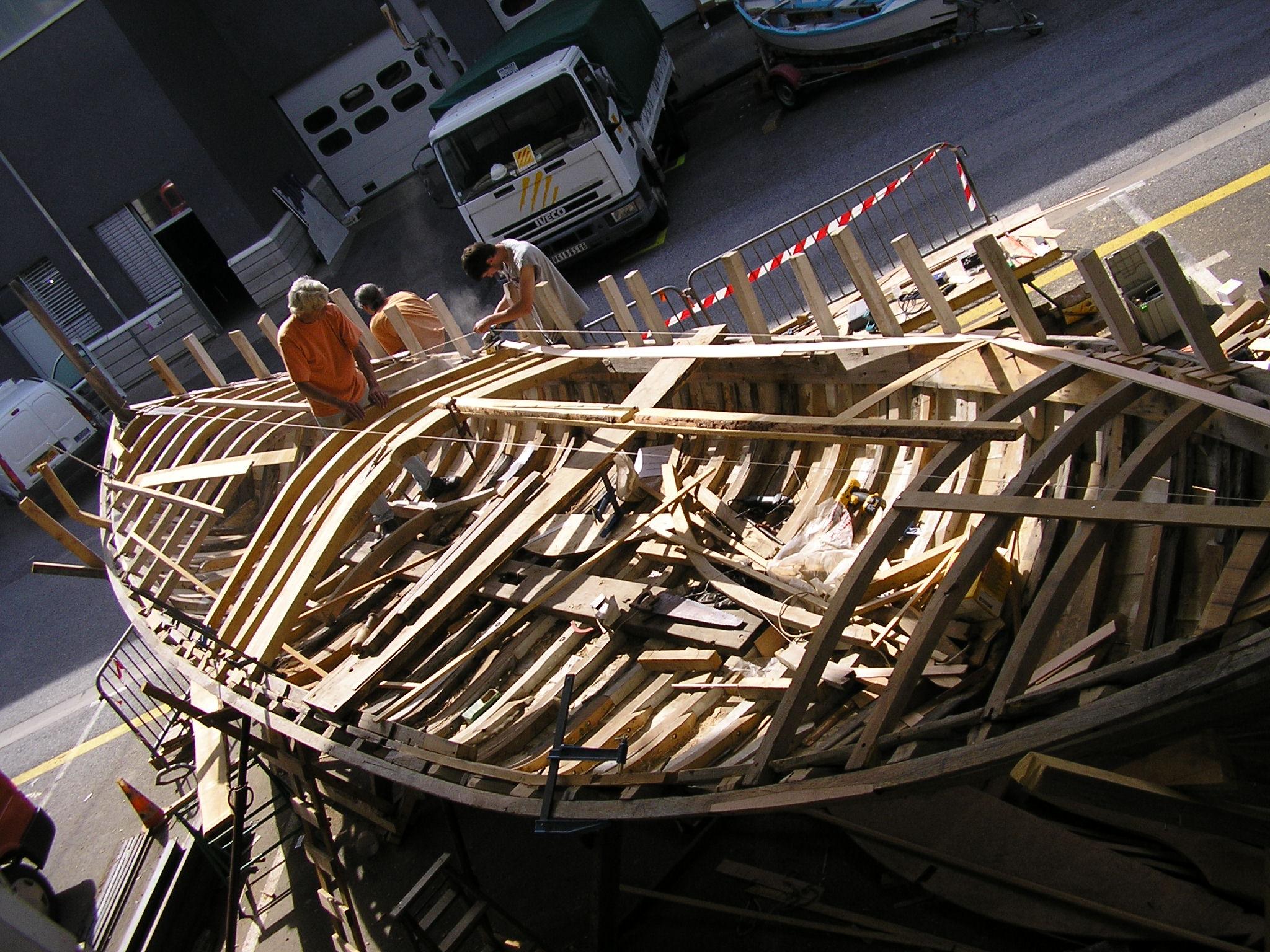 charpente marine